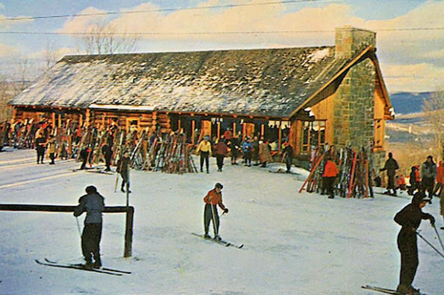1950th Belleayre Ski Lodge